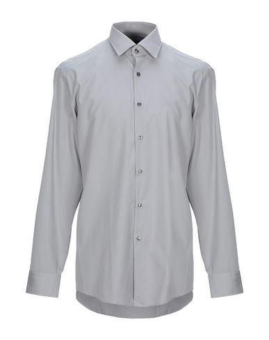 Фото - Pубашка от BOSS BLACK серого цвета