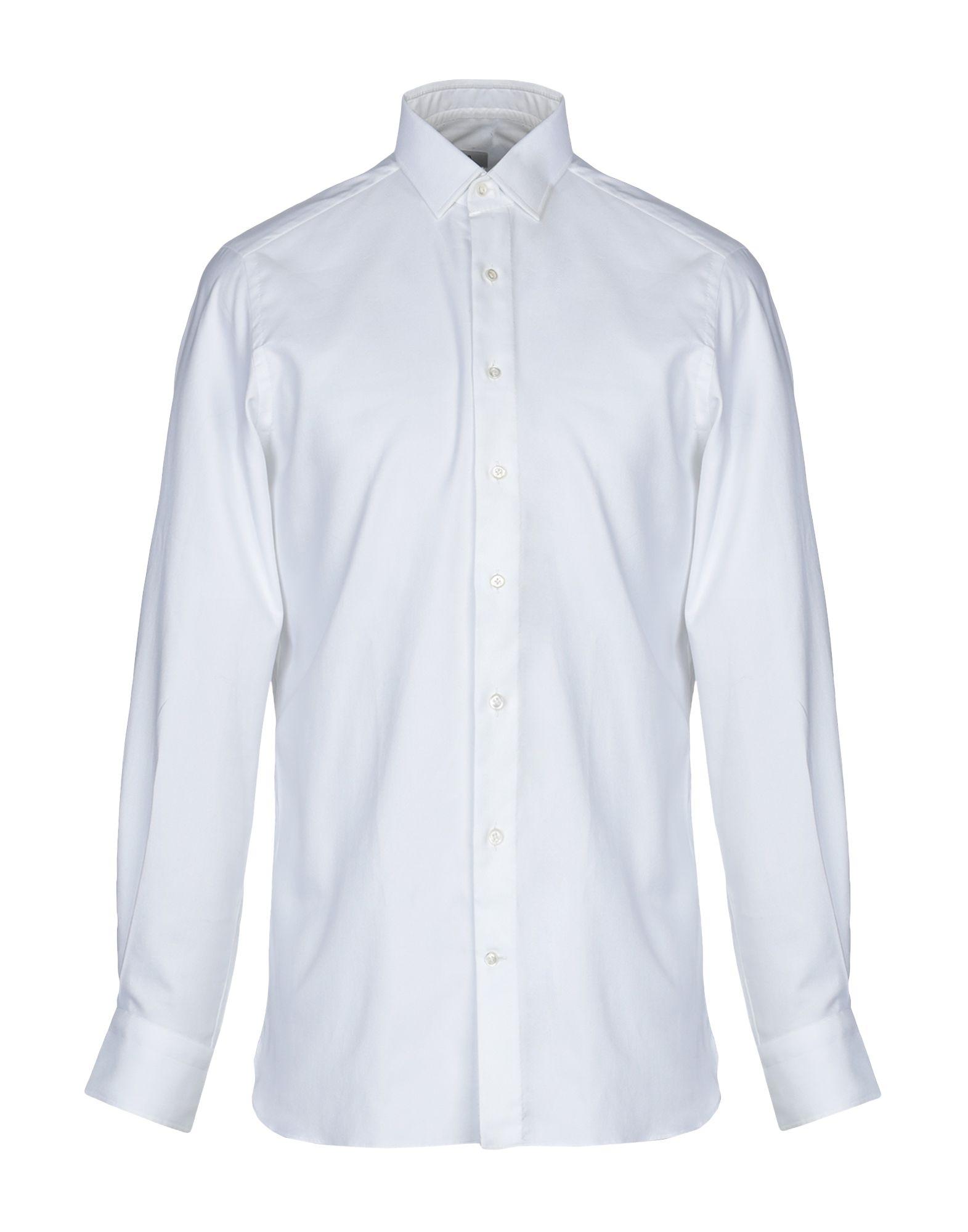 《送料無料》100 HANDS メンズ シャツ ホワイト 40 コットン 100%