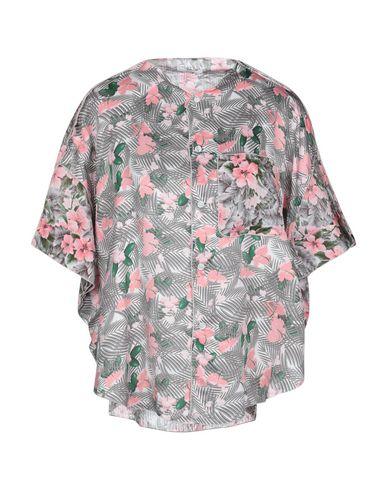 Фото - Pубашка от JULIEN DAVID розового цвета