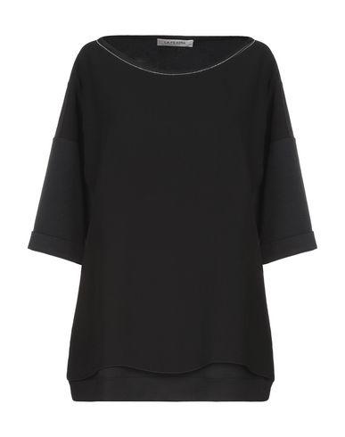 Фото - Женскую блузку LA FILERIA черного цвета