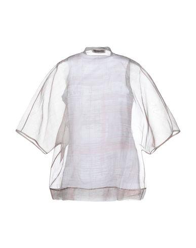 Фото 2 - Женскую блузку ACCUÀ by PSR светло-серого цвета