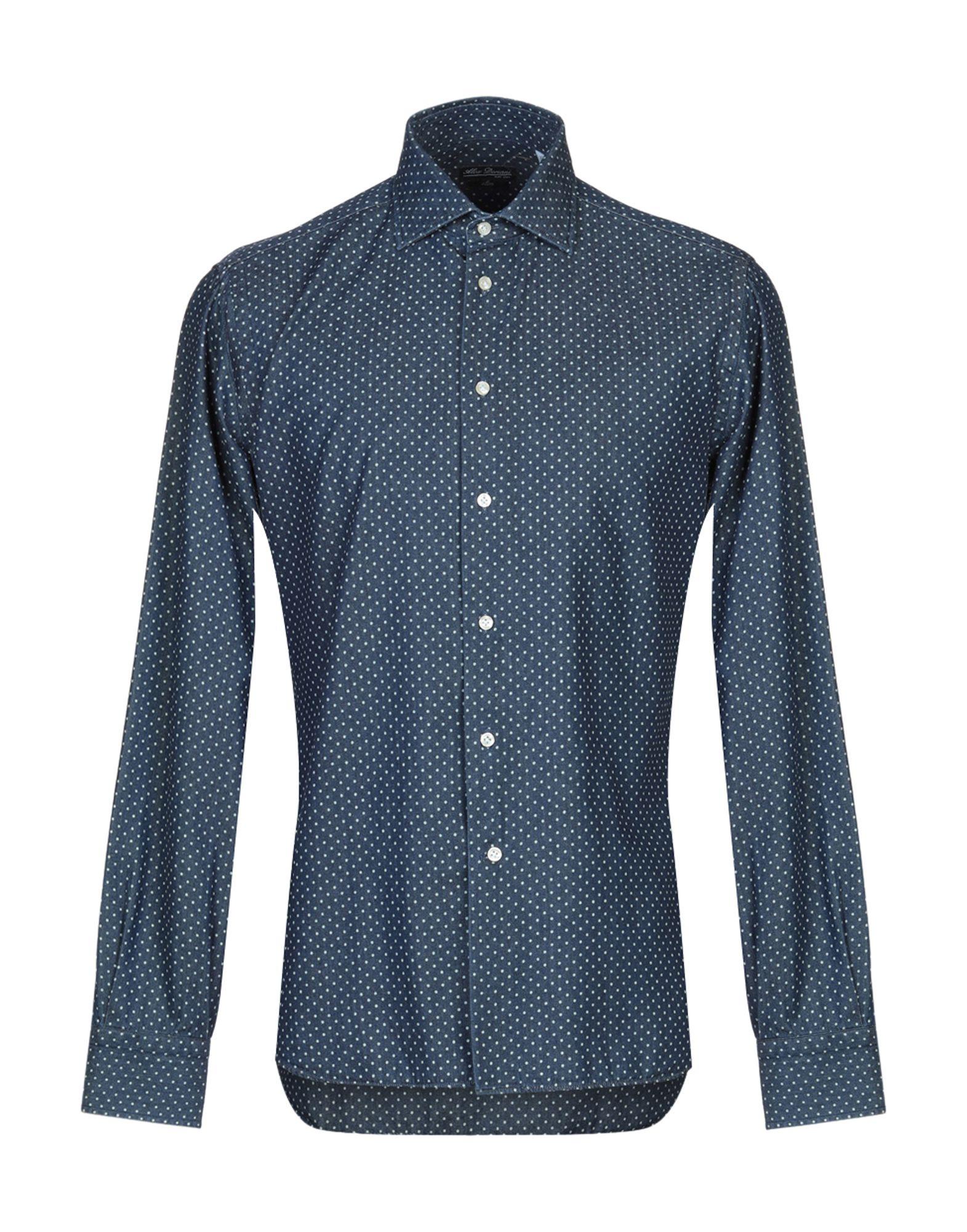 ALEX DORIANI Джинсовая рубашка чайный набор alex в горошек металлическая 705pd