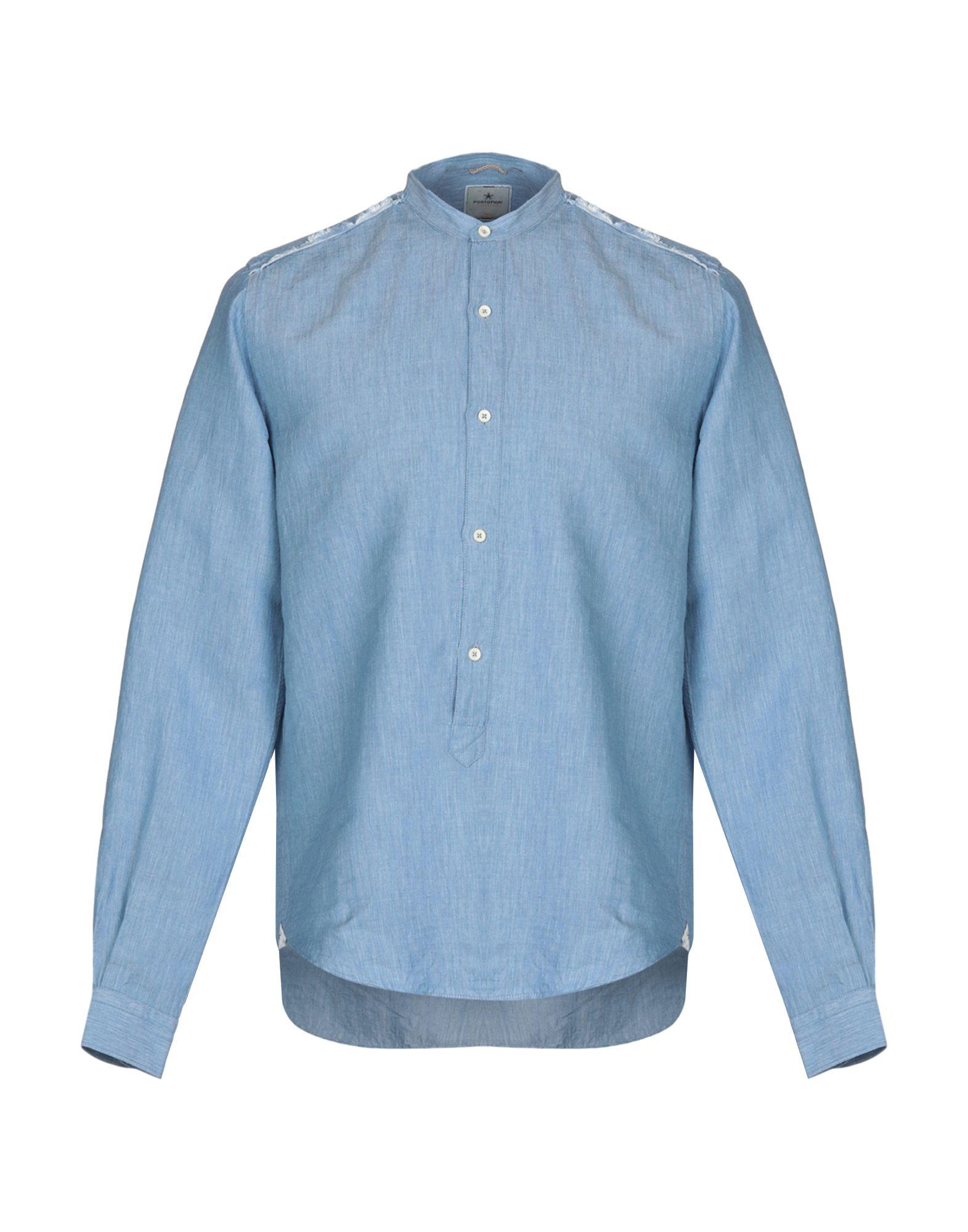 PORTOFIORI Джинсовая рубашка
