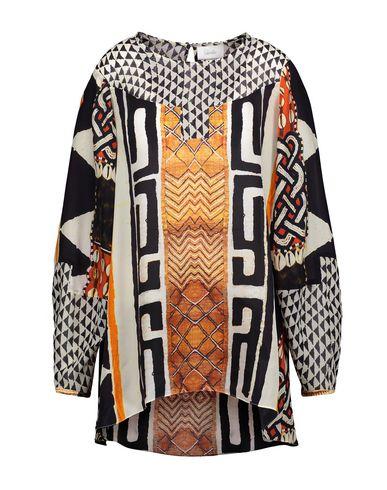 Купить Женскую блузку  ржаво-коричневого цвета
