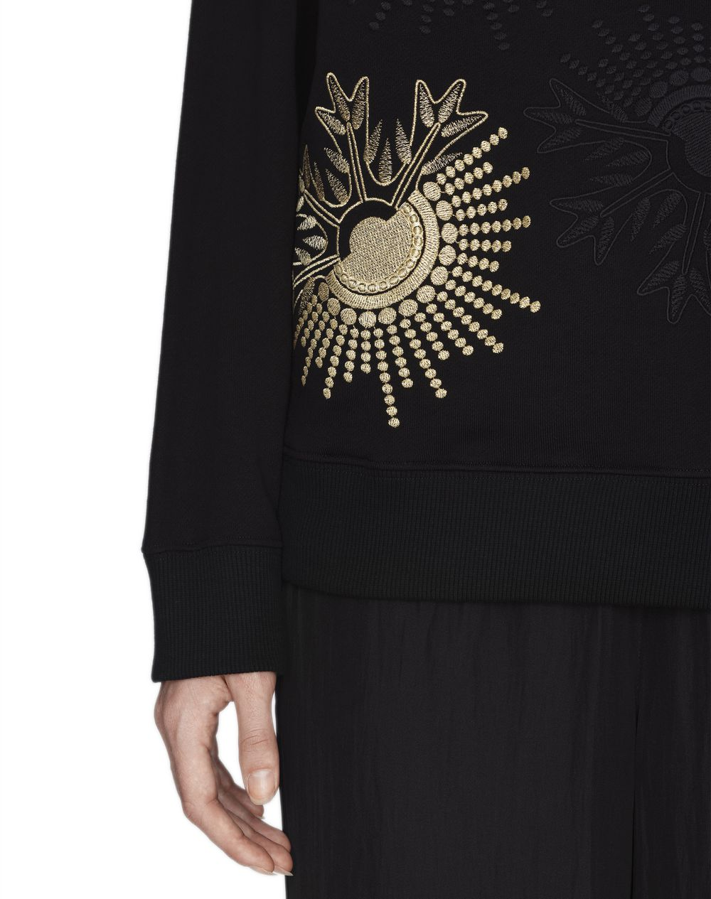 EMBROIDERED JERSEY SWEATER - Lanvin