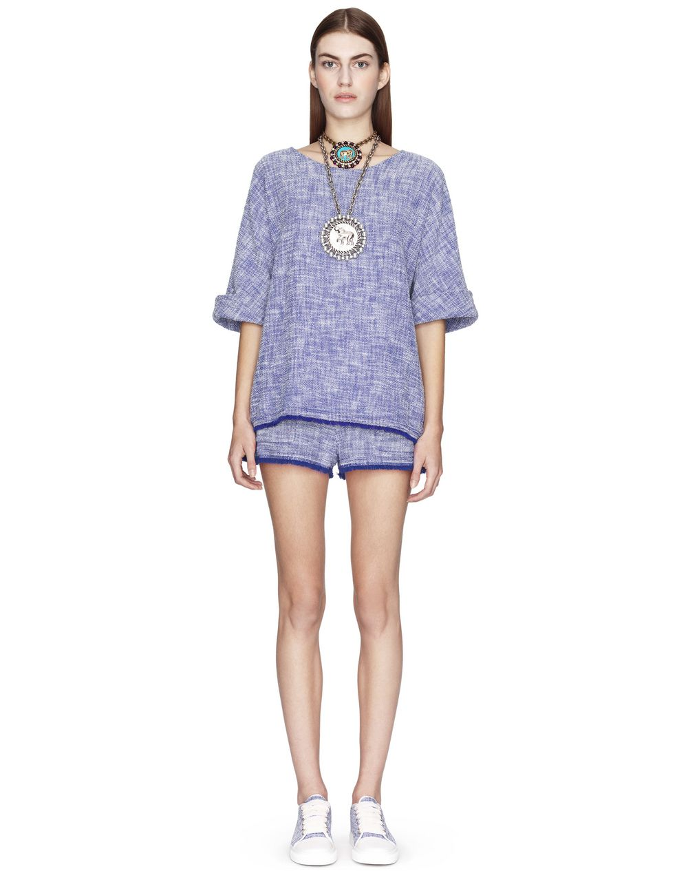 LIGHTWEIGHT TWEED TOP - Lanvin