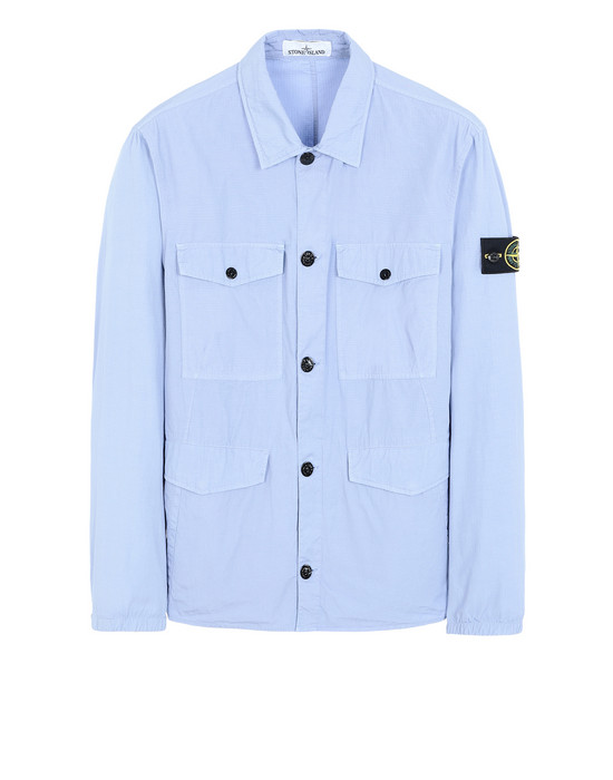 OVER SHIRT 12707 STRUCTURED COTTON STONE ISLAND - 0