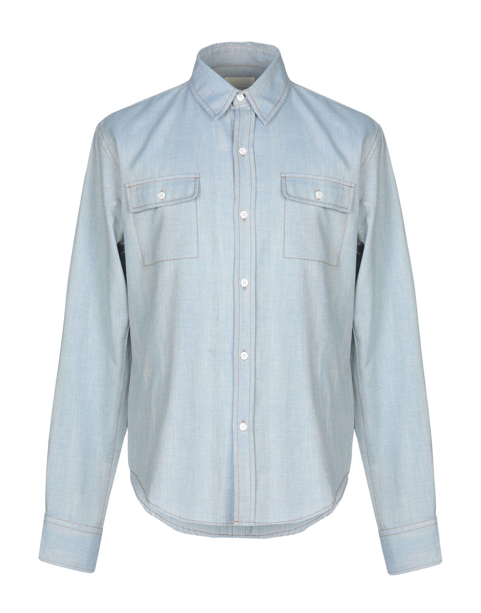BAND OF OUTSIDERS Джинсовая рубашка цена 2017