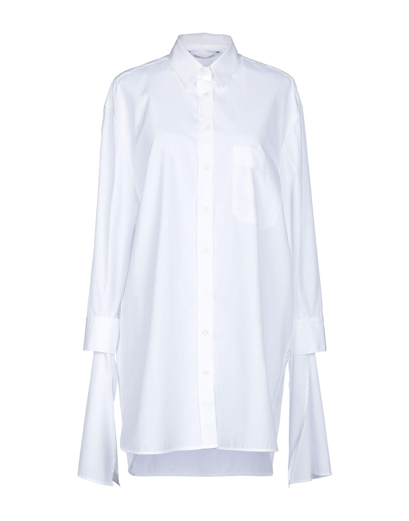 NEIL BARRETT Короткое платье neil barrett хлопковая рубашка в полоску page 2