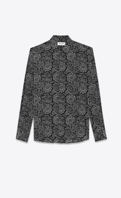Crepe de chine Gothic shirt