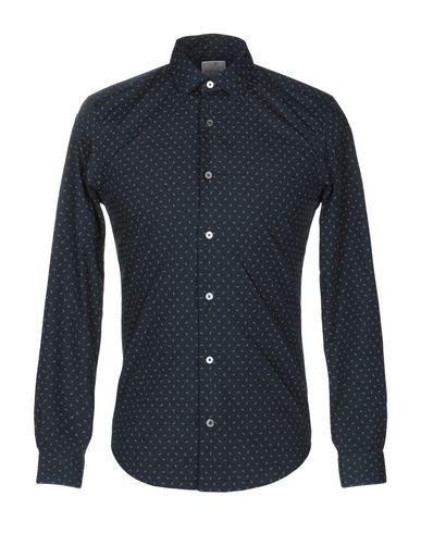 Купить Pубашка темно-синего цвета