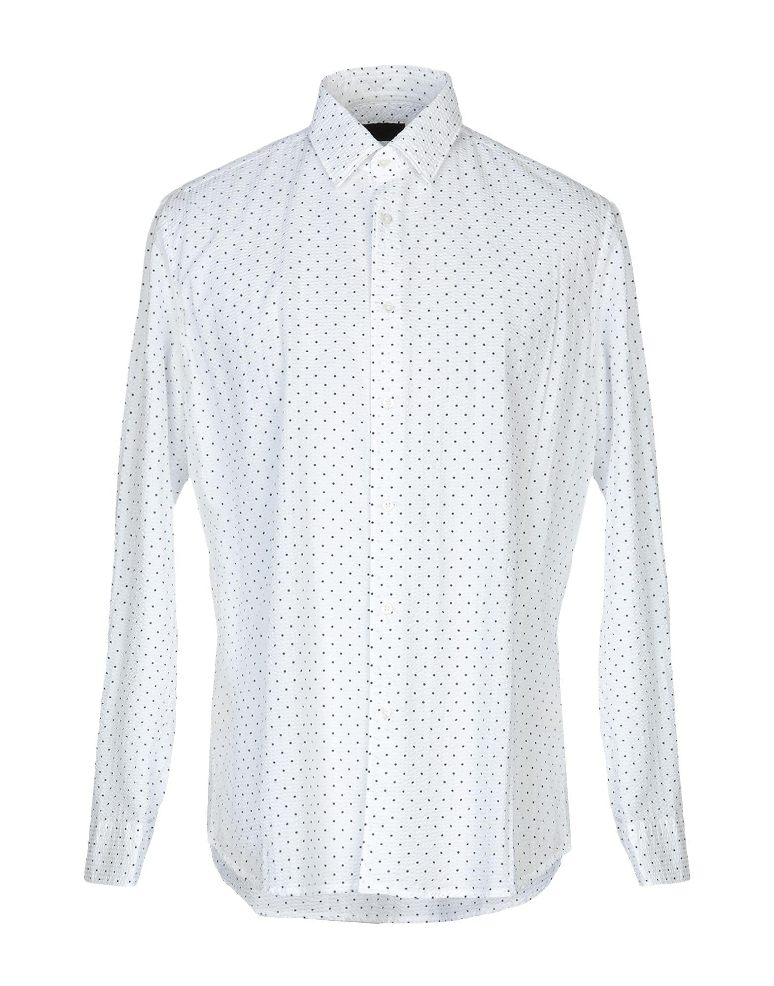 《送料無料》ALTEA メンズ シャツ ホワイト 42 コットン 100%