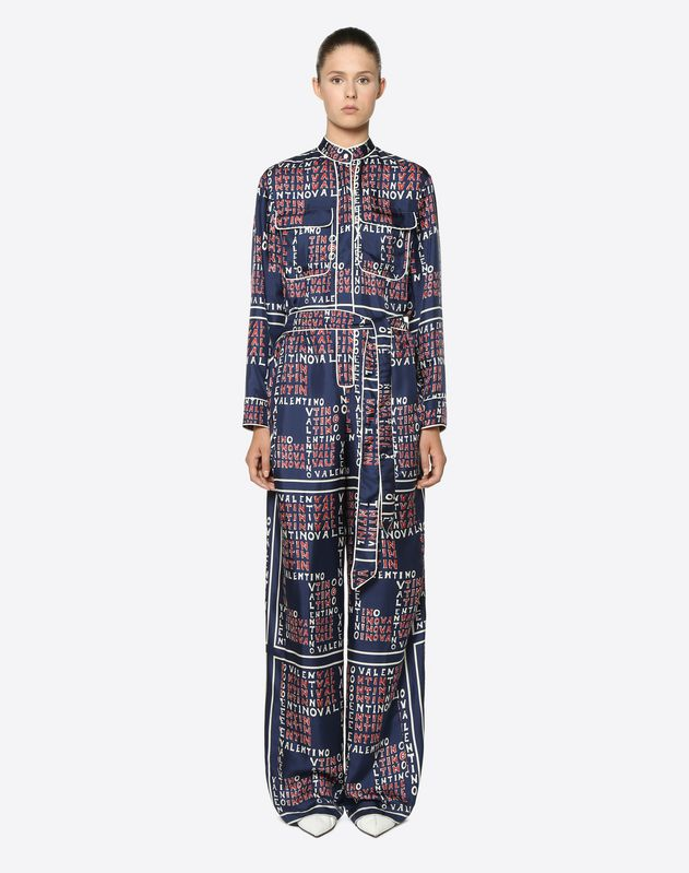 Jumpsuit in Twill Valentino Puzzle
