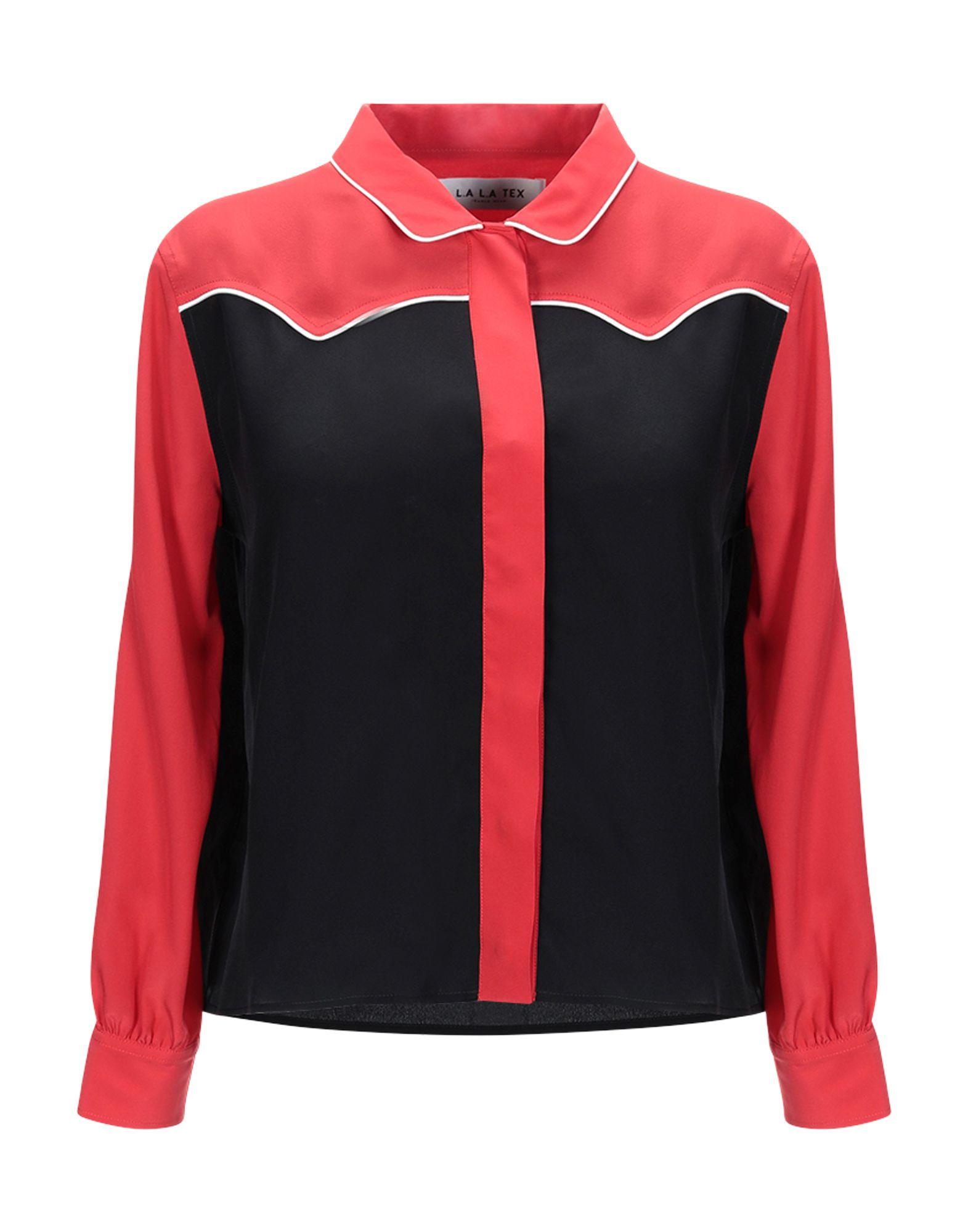 《期間限定セール中》L.A L.A TEX RANCH WEAR レディース シャツ ブラック II シルク 100%