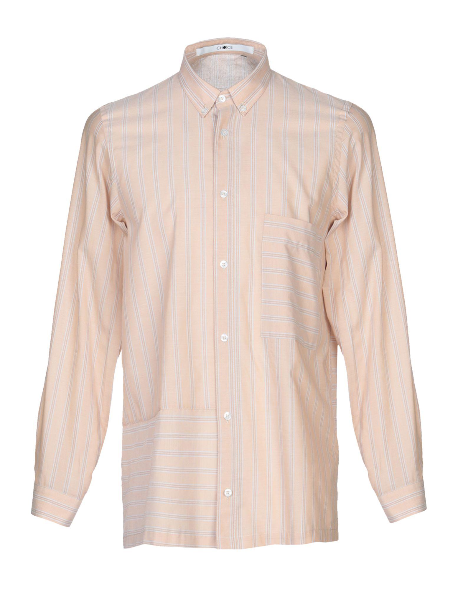 《セール開催中》CHOICE NICOLA PELINGA メンズ シャツ サンド M コットン 100%
