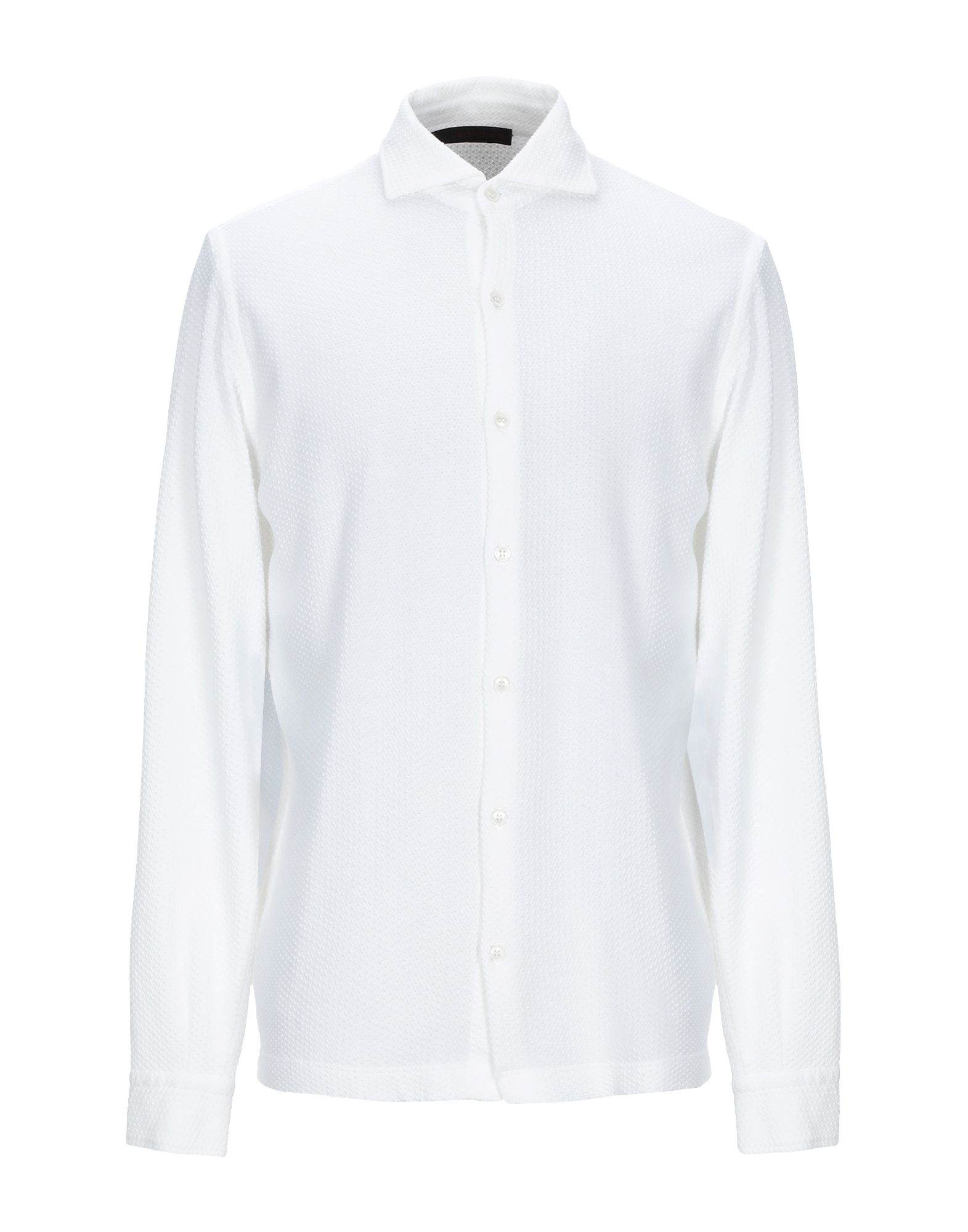 《セール開催中》JEORDIE'S メンズ シャツ ホワイト S コットン 100%