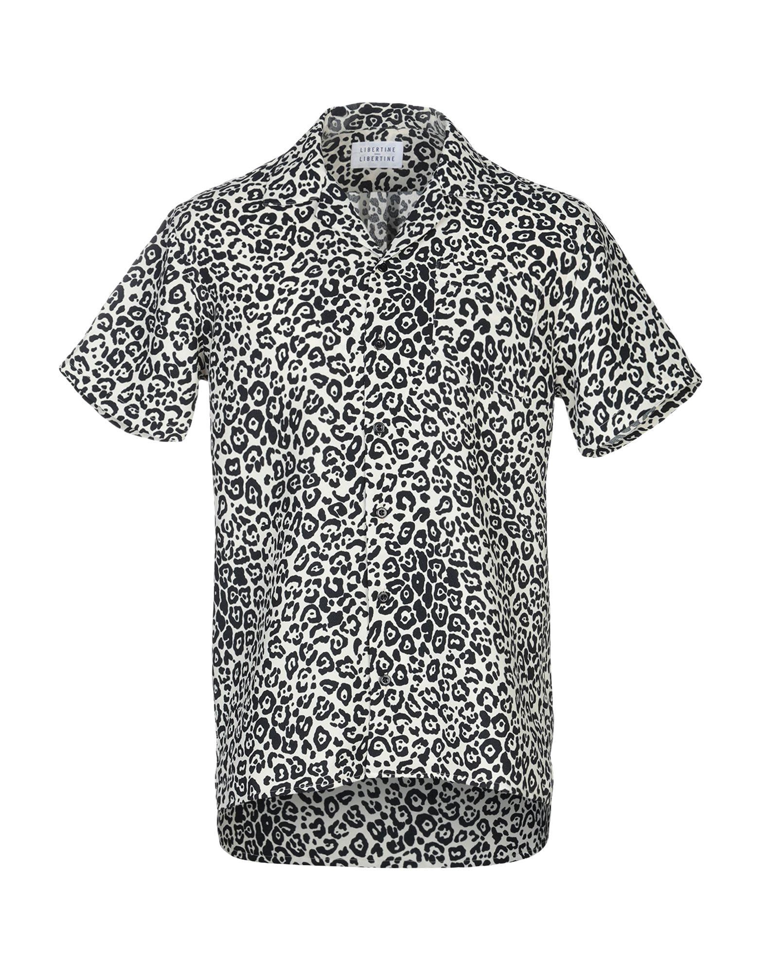 《セール開催中》LIBERTINE-LIBERTINE メンズ シャツ ベージュ S ポリエステル 100%