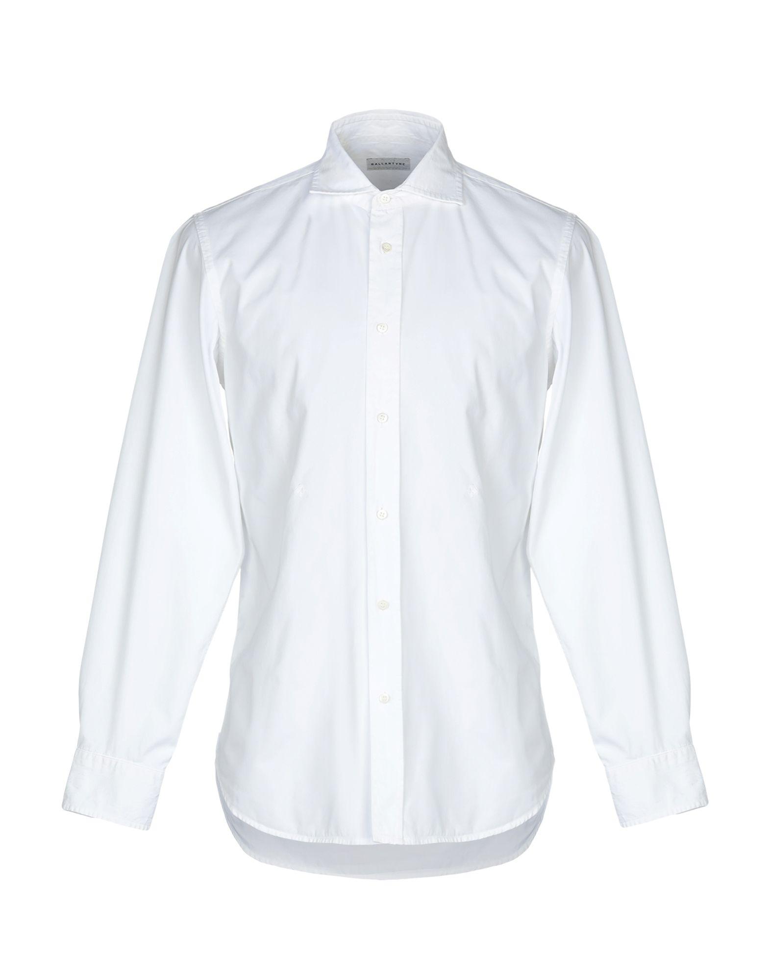 BALLANTYNE Pубашка ballantyne pубашка