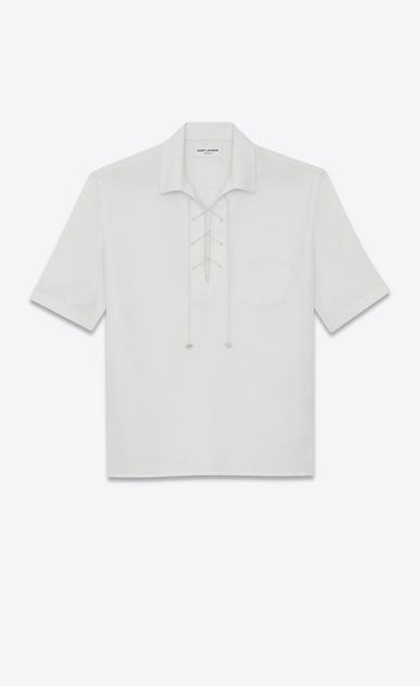 Bandana jacquard shirt