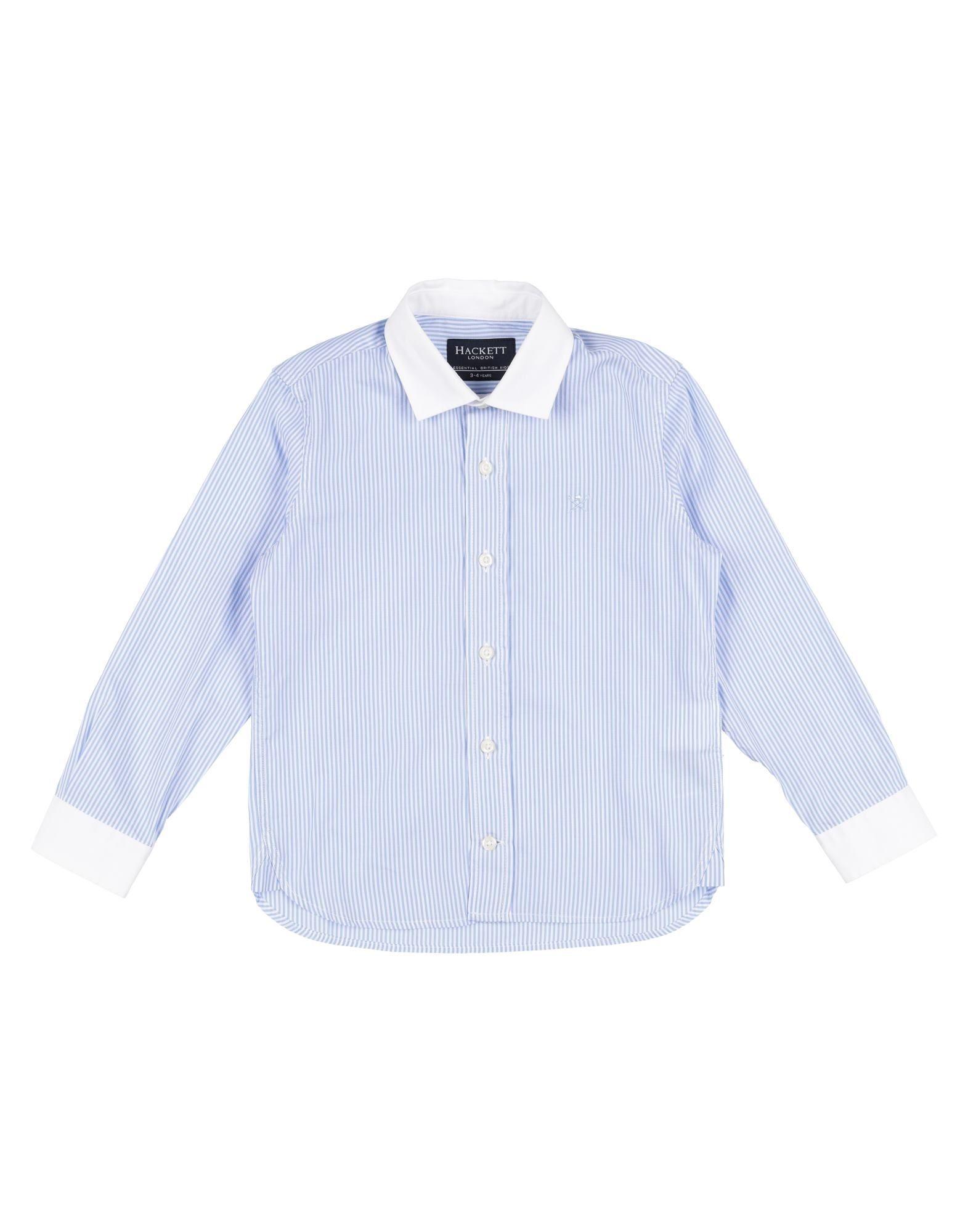 HACKETT Jungen 3-8 jahre Hemd1 blau
