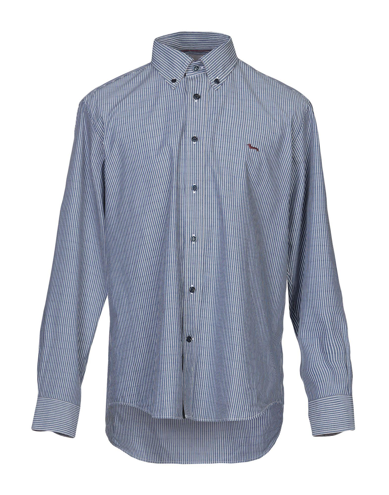 《送料無料》HARMONT & BLAINE メンズ シャツ ブルー XL コットン 100%