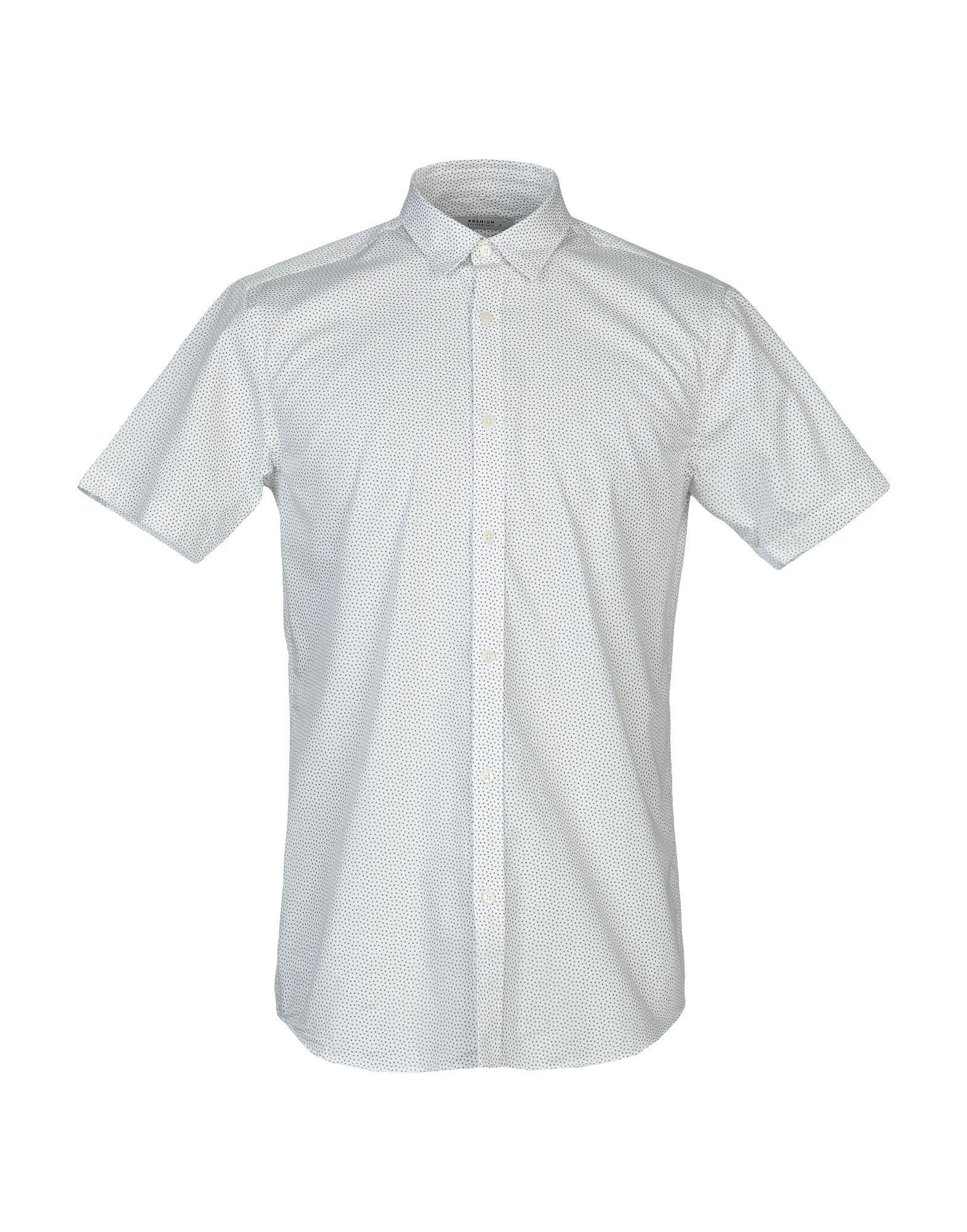 《送料無料》JACK & JONES PREMIUM メンズ シャツ ホワイト M コットン 100%