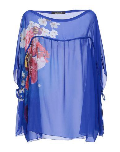 Купить Женскую блузку  ярко-синего цвета