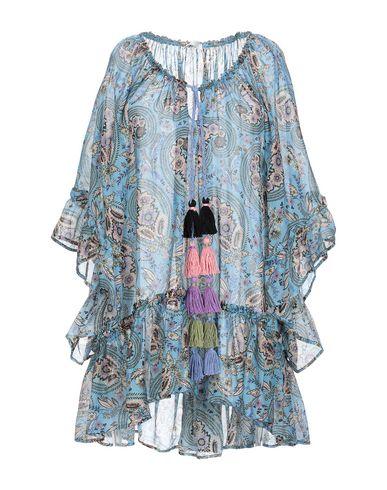 Купить Женскую блузку ANJUNA бирюзового цвета
