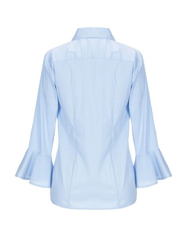 Фото 2 - Pубашка от STRETCH by PAULIE небесно-голубого цвета