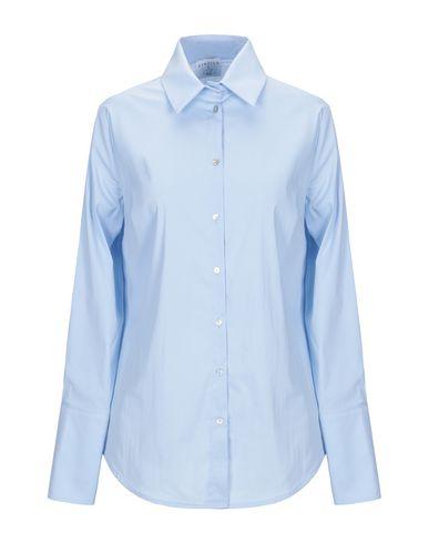 Фото - Pубашка от STRETCH by PAULIE небесно-голубого цвета