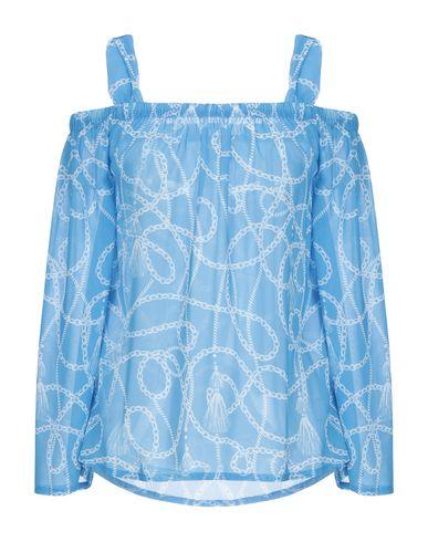 Фото - Женскую блузку STRETCH by PAULIE лазурного цвета