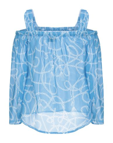 Фото 2 - Женскую блузку STRETCH by PAULIE лазурного цвета