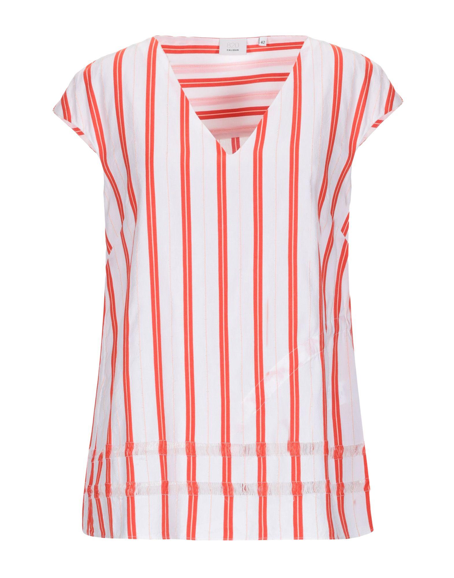 CALIBAN Блузка блузка в полоску marice