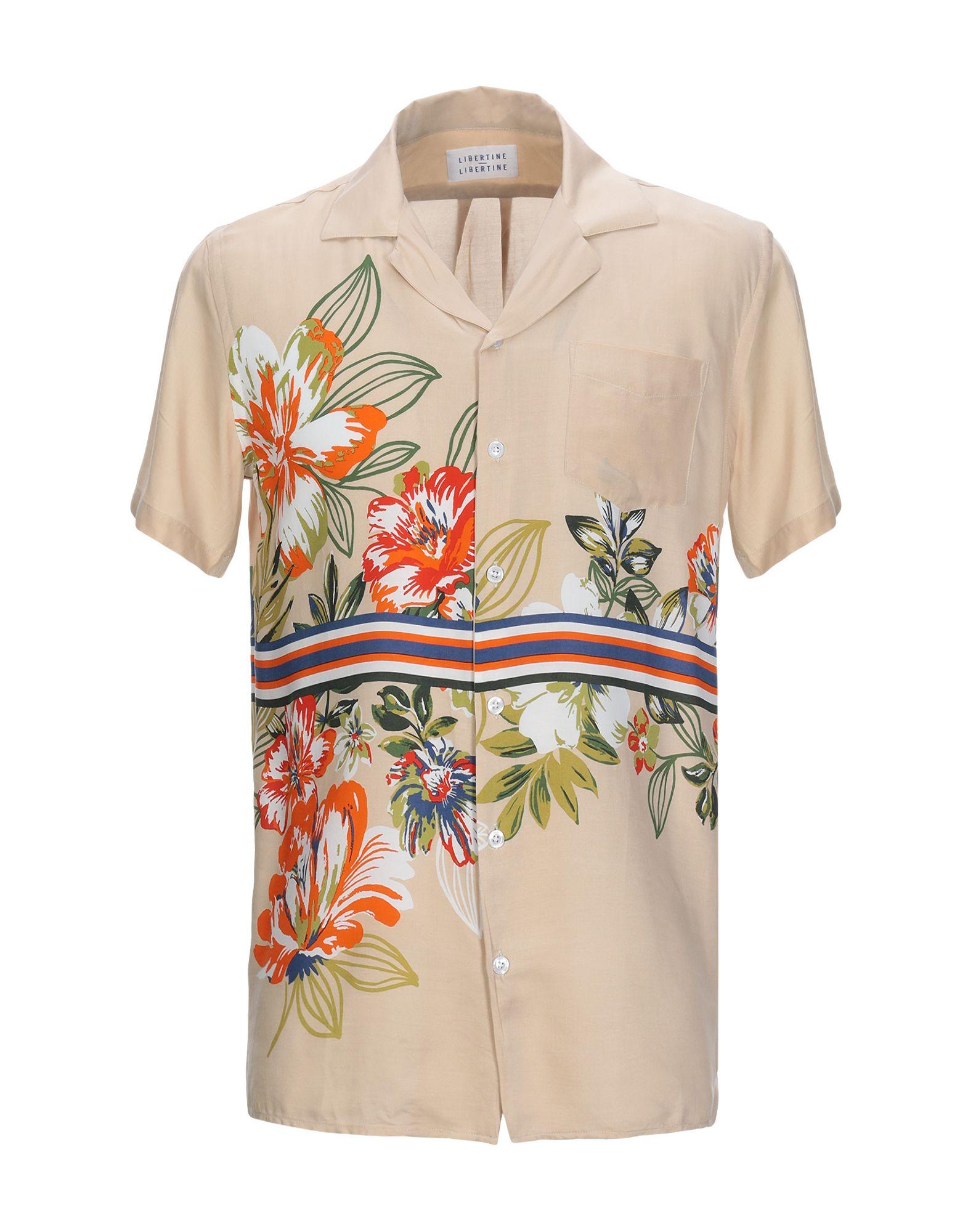 《セール開催中》LIBERTINE-LIBERTINE メンズ シャツ サンド S レーヨン 100%