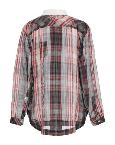 Фото 2 - Pубашка от PEUTEREY красного цвета