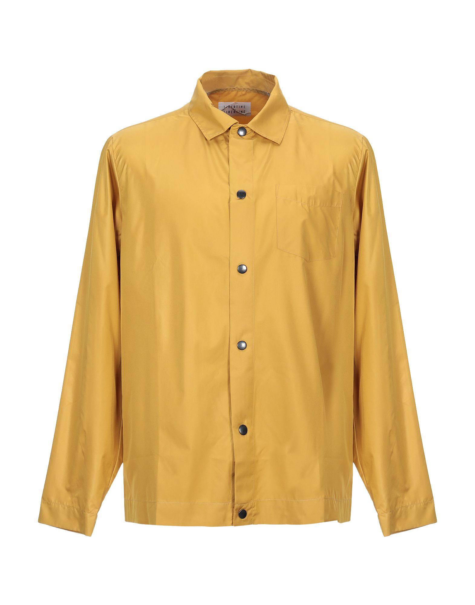 《セール開催中》LIBERTINE-LIBERTINE メンズ シャツ オークル M ポリエステル 100%