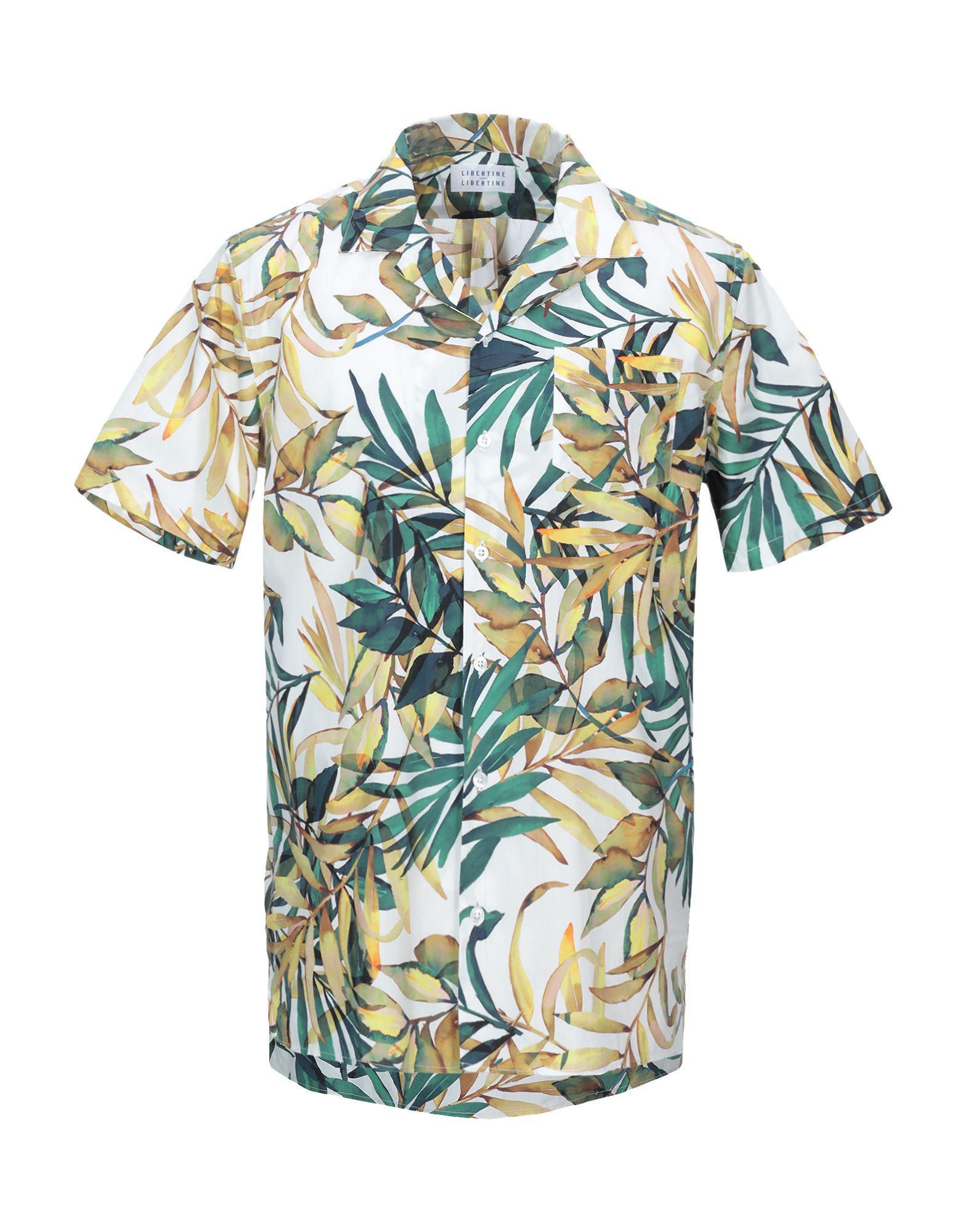 《セール開催中》LIBERTINE-LIBERTINE メンズ シャツ ホワイト XS コットン 100%