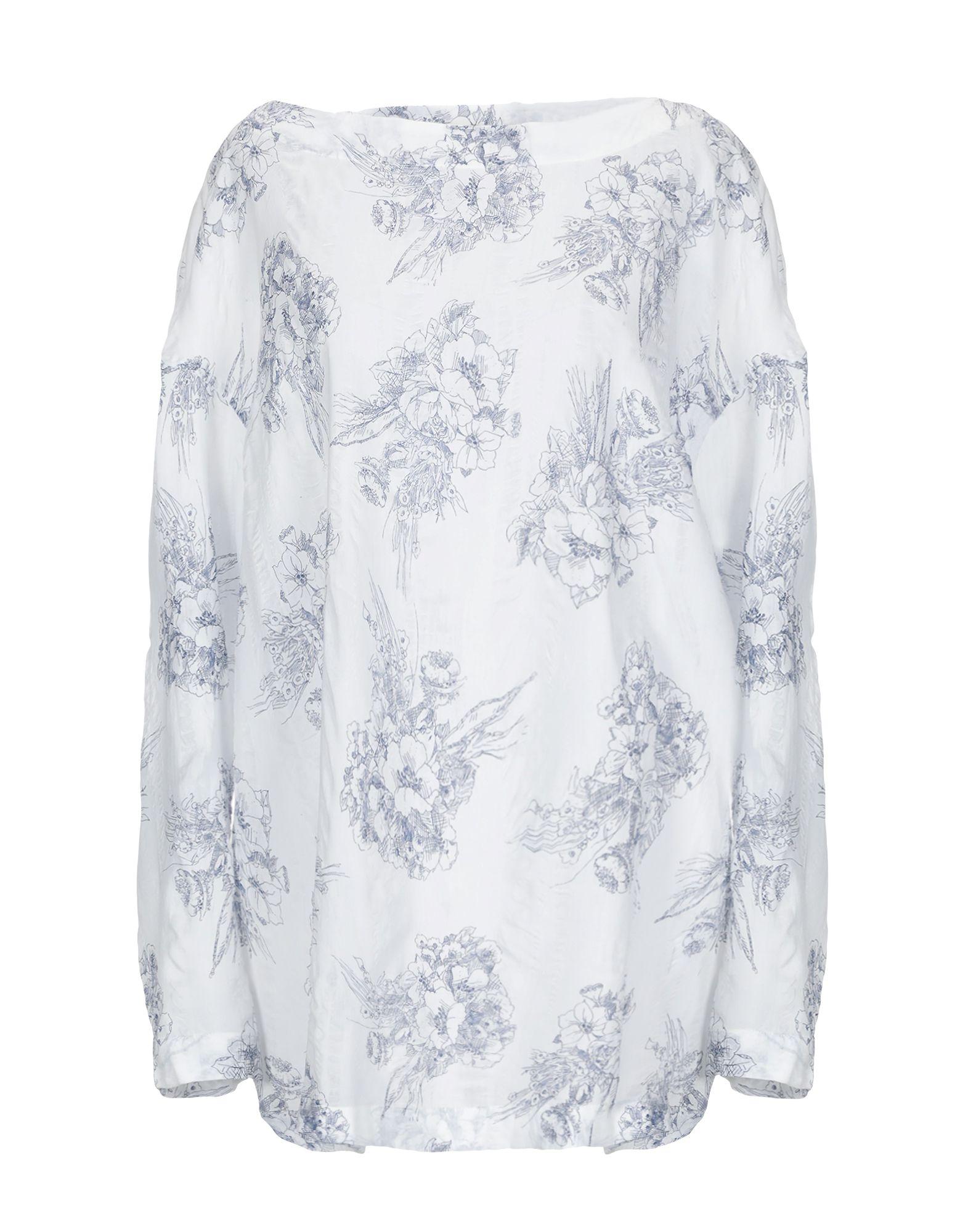 MASSIMO ALBA Блузка блузка alba moda klingel цвет серый рисунок