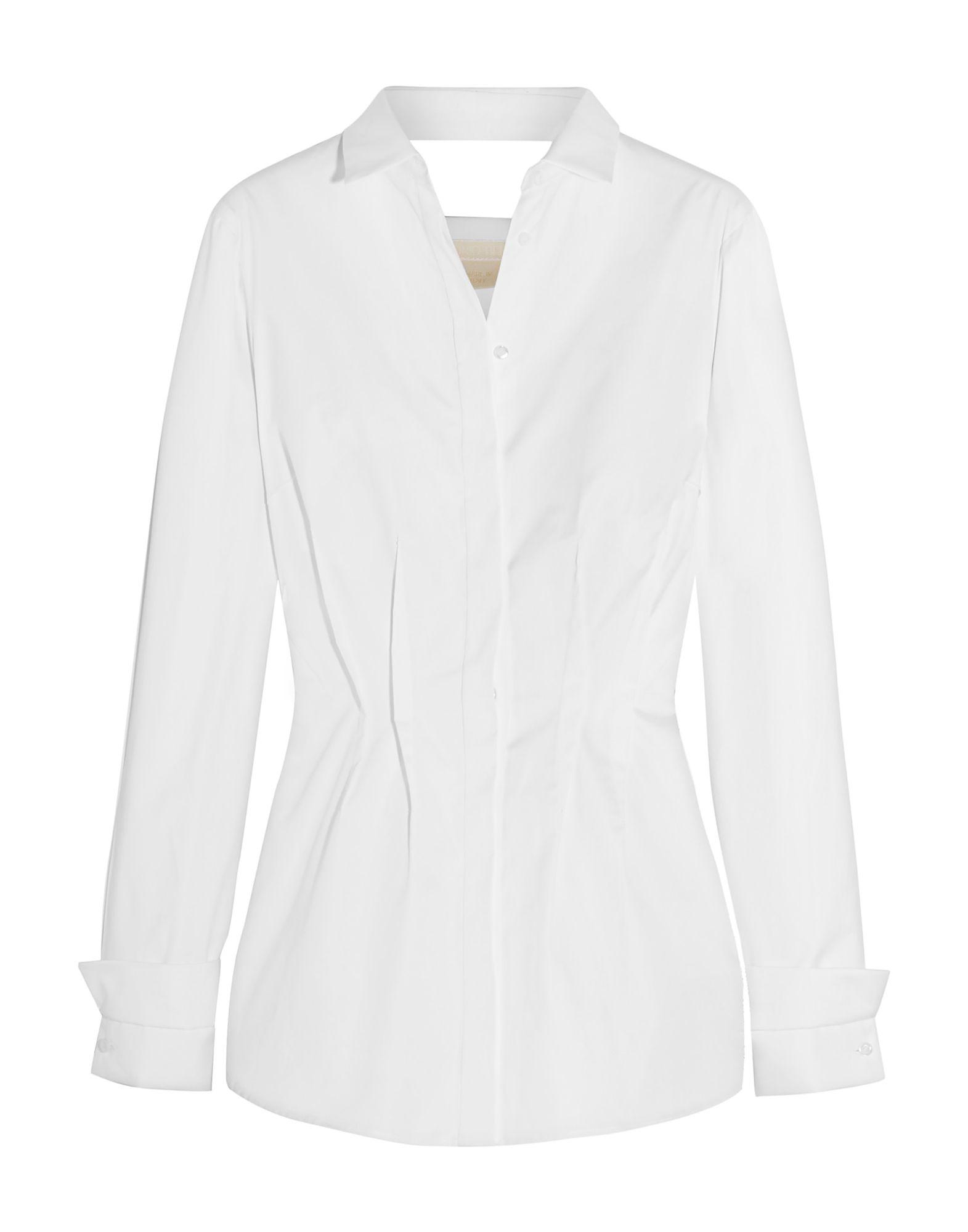 《セール開催中》ANTONIO BERARDI レディース シャツ ホワイト 40 コットン 100%