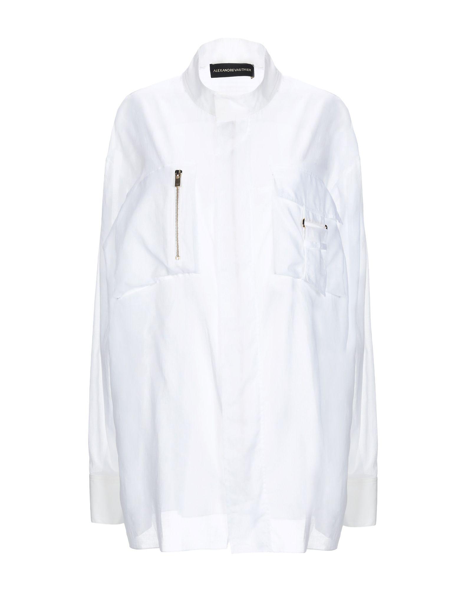 ALEXANDRE VAUTHIER Pубашка alexandre vauthier юбка до колена