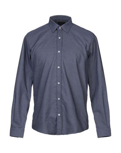 Фото - Pубашка от LIU •JO MAN темно-синего цвета