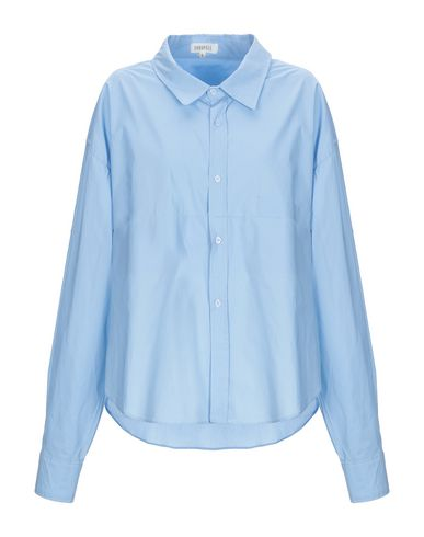 Фото - Pубашка от GHOSPELL небесно-голубого цвета