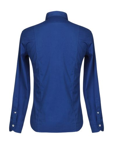Фото 2 - Pубашка от DOMENICO TAGLIENTE синего цвета