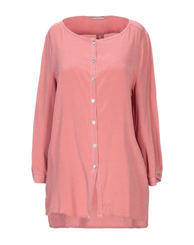 Фото - Pубашка от BLUKEY пастельно-розового цвета
