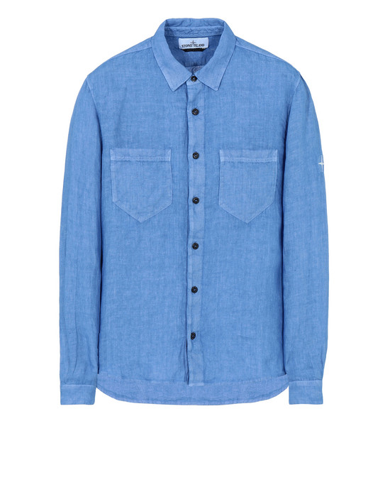 "STONE ISLAND Long sleeve shirt 11201 ""FISSATO""DYE TREATMENT"
