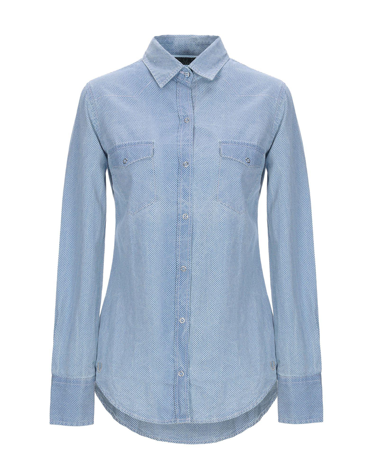 FRED PERRY Джинсовая рубашка рубашка мужская fred perry 65 incoool 15
