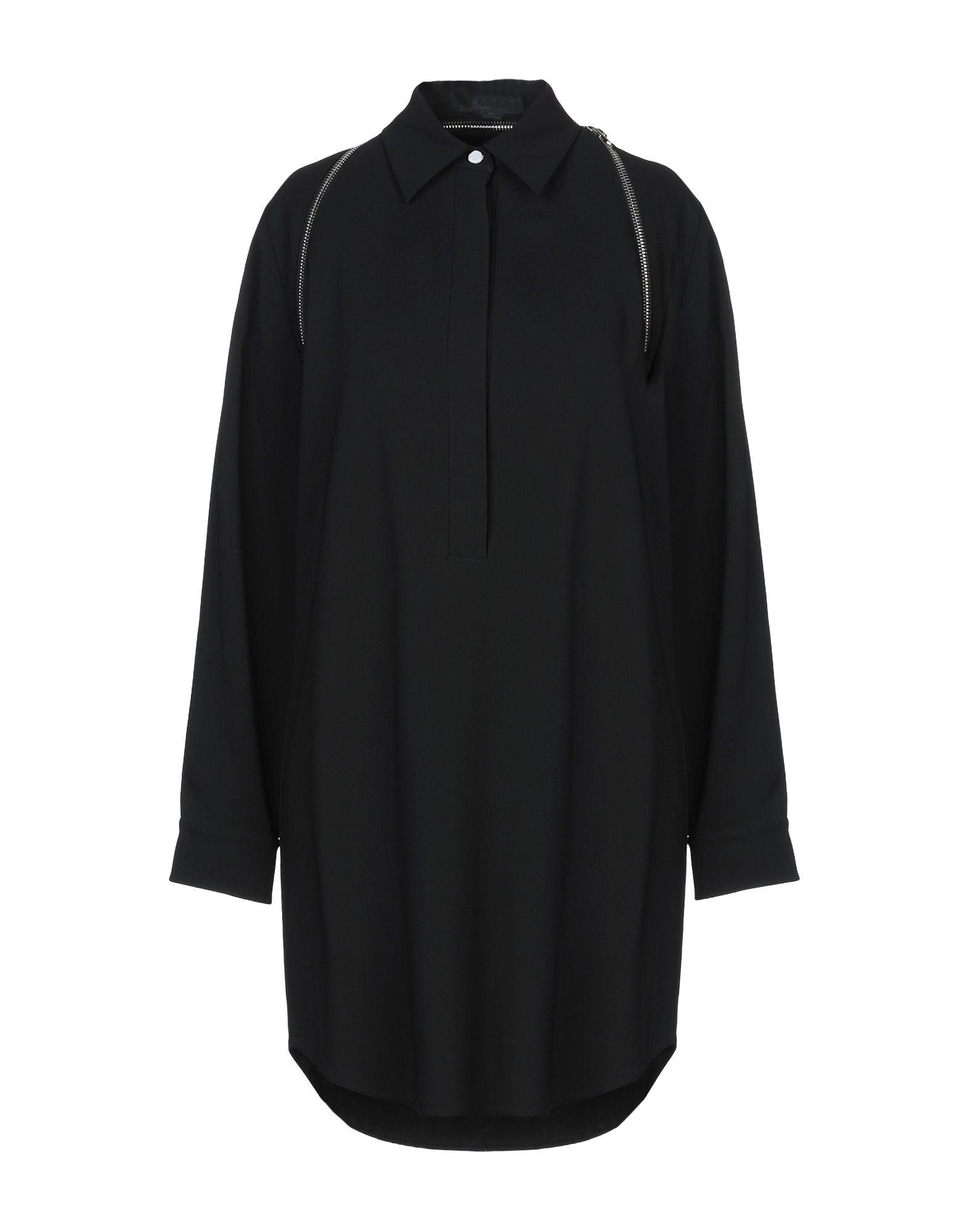 ALEXANDER WANG Короткое платье t by alexander wang черное платье с сетчатой вставкой