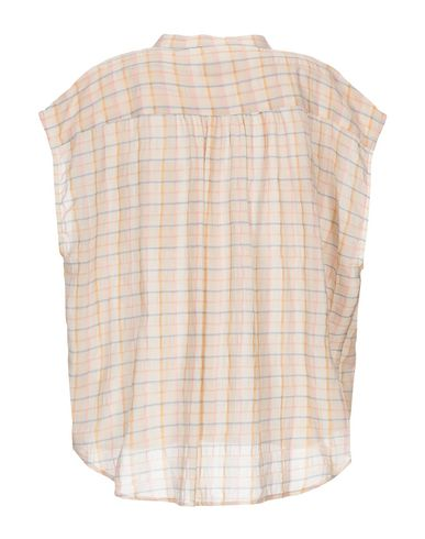 Фото 2 - Pубашка от MOMONÍ бежевого цвета