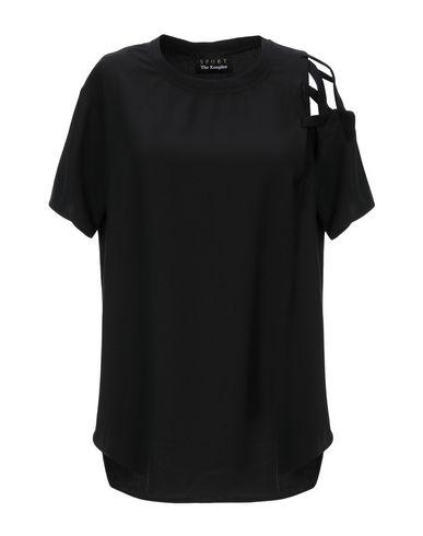 Фото - Женскую блузку THE KOOPLES SPORT черного цвета