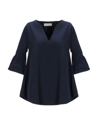 Купить Женскую блузку SVNTY темно-синего цвета